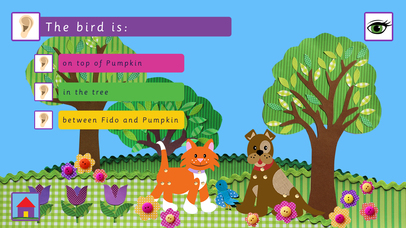 Fido&Pumpkin Position Words App - 3