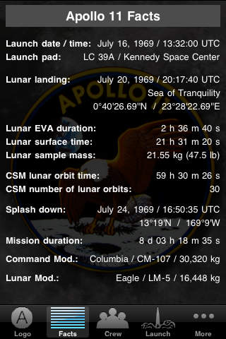 Apollo 11 Mission App App - 4
