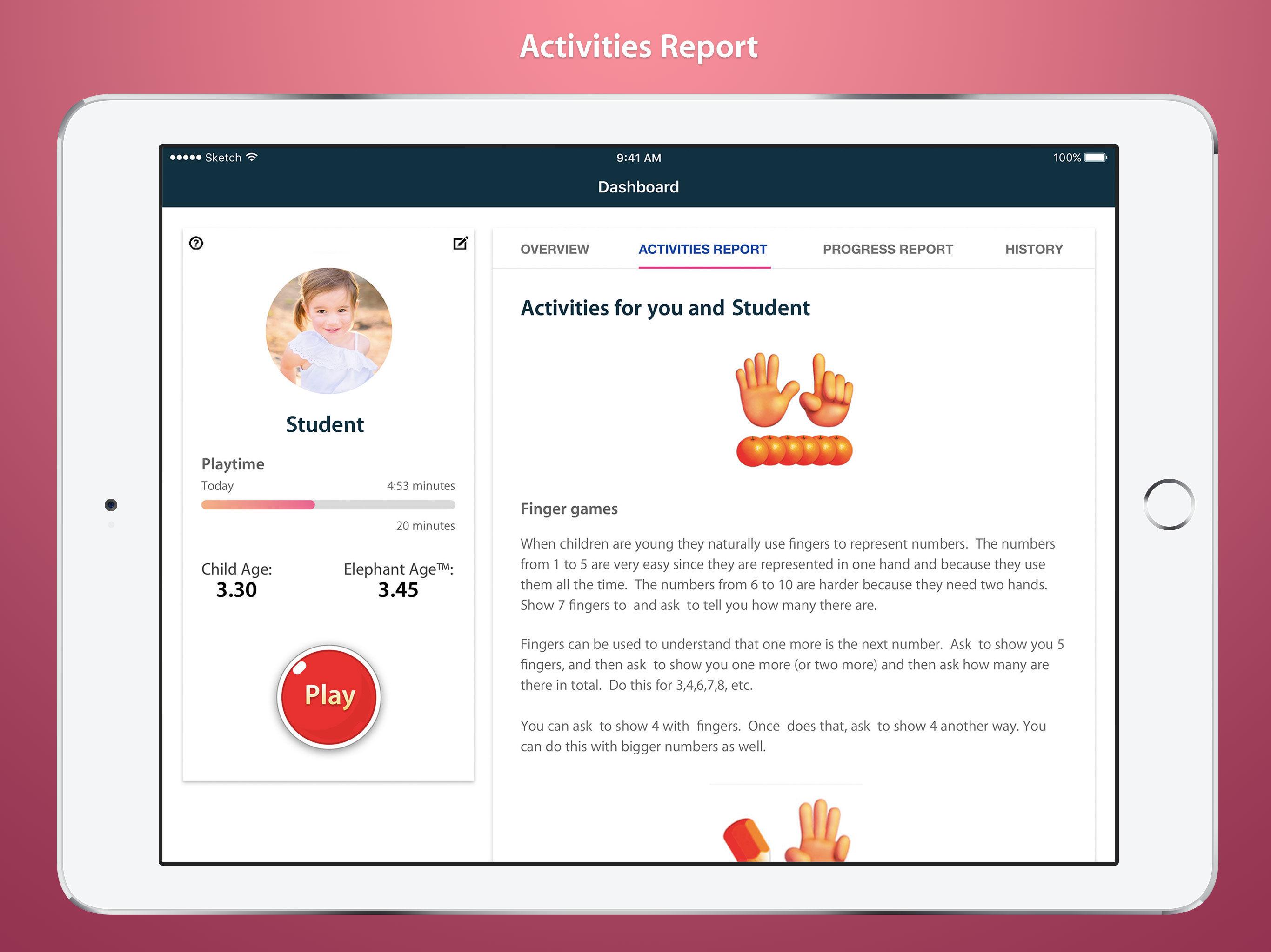 Elephant Learning App - 1