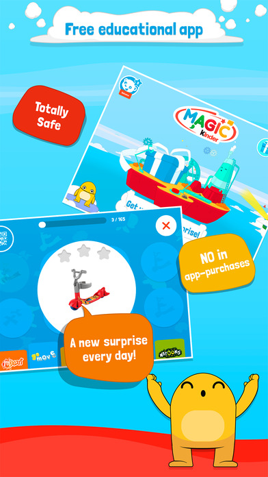 Magic Kinder - Bedtime Stories and Videos for Kids App - 1