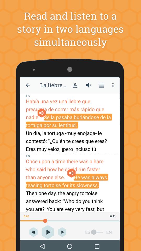 Beelinguapp: Learn Languages App - 2