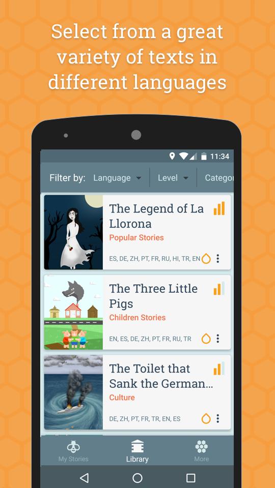 Beelinguapp: Learn Languages App - 4