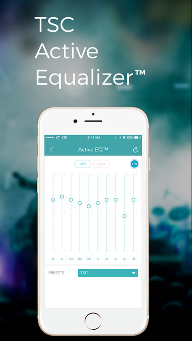 TSC Music: Equalizer Balance - New Way of Hearing