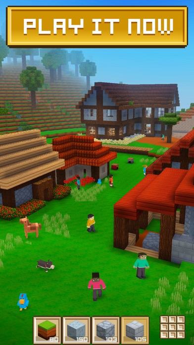 Block Craft 3D: Building Simulator Game For Free App - 1