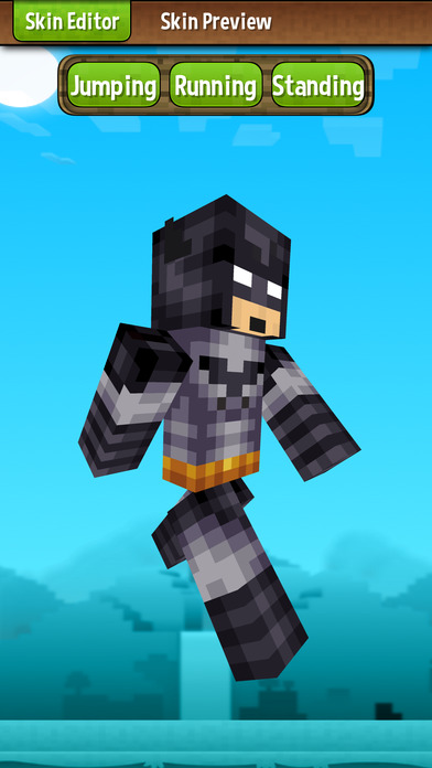 Skin creator for minecraft free minecraft skins review for Minecraft 3d blueprint maker