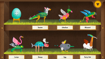 Creature Garden by Tinybop App - 1