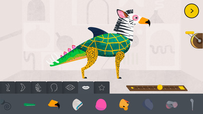 Creature Garden by Tinybop App - 2