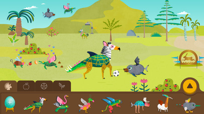 Creature Garden by Tinybop App - 4