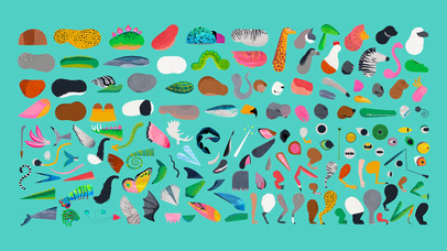 Creature Garden by Tinybop App - 5