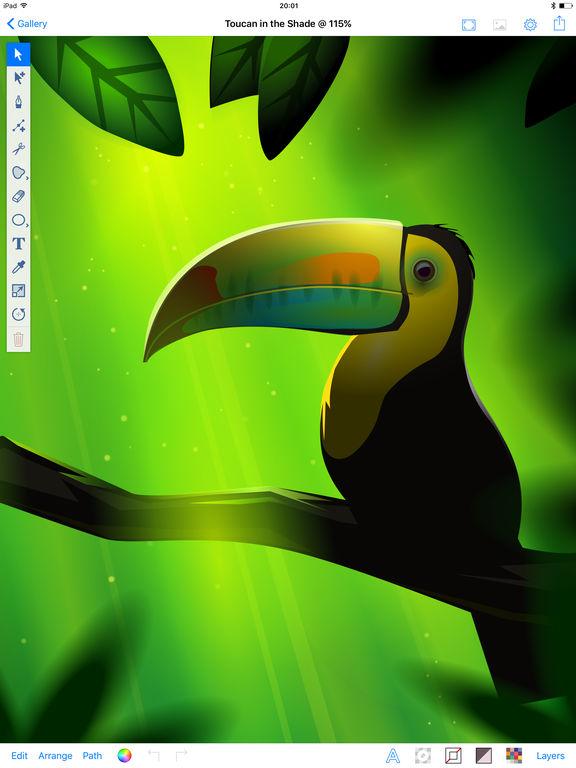 Inkpad - Vector Graphic Design & Illustration App - 1