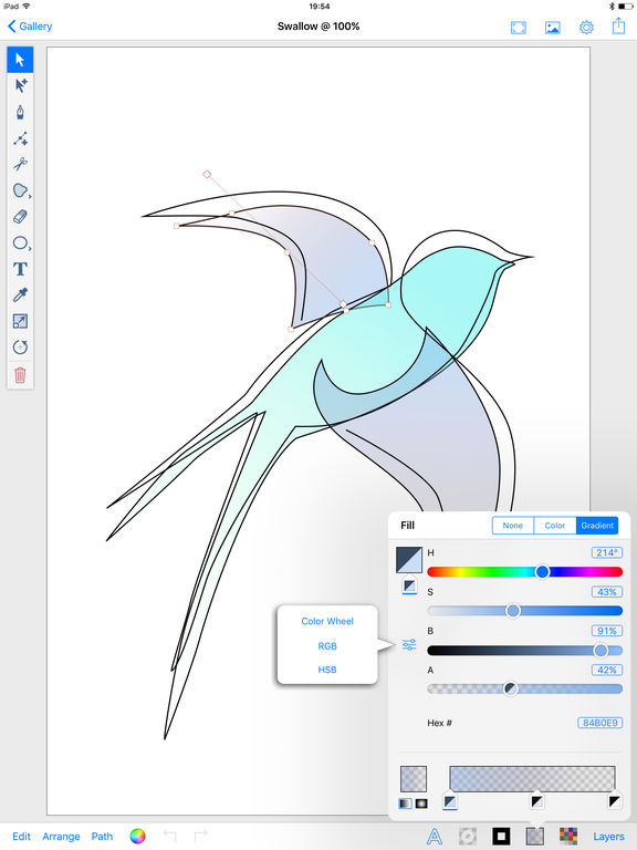 Inkpad - Vector Graphic Design & Illustration App - 3