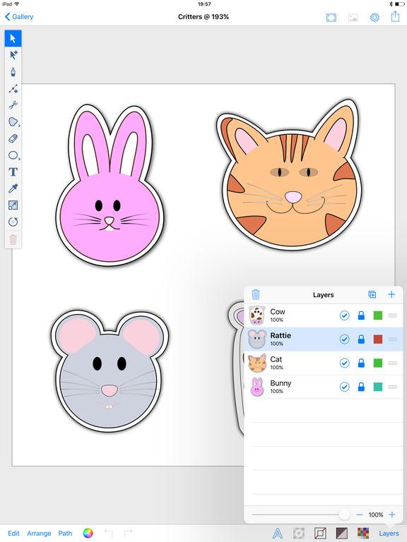 Inkpad - Vector Graphic Design & Illustration App - 5
