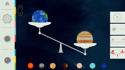 Space by Tinybop App - 2