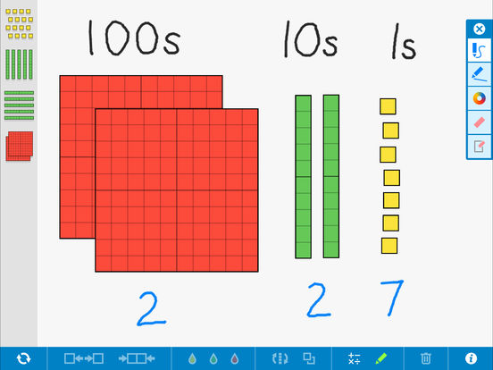 Number Pieces Basic, by the Math Learning Center App - 1