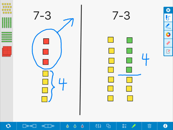 Number Pieces Basic, by the Math Learning Center App - 3