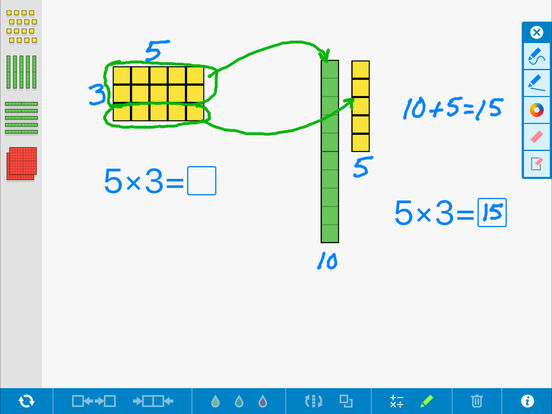Number Pieces Basic, by the Math Learning Center App - 5