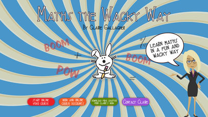 Maths the Wacky Way App - 2