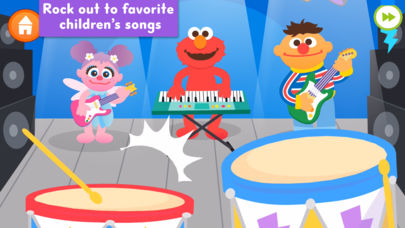 Sesame Street Makes Music App - 2