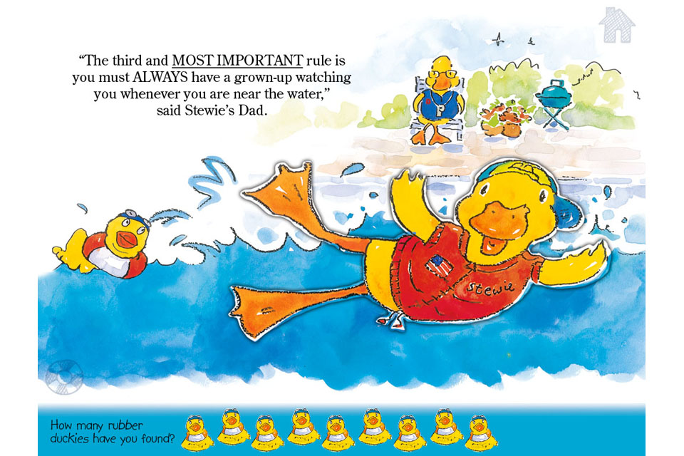Stewie the Duck Learns to Swim-3