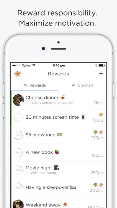 OurHome – chores, rewards, groceries and calendar