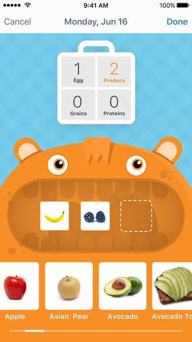 LaLa Breakfast: meal planning for kids App - 1