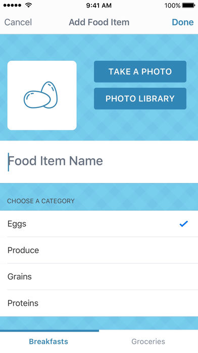LaLa Breakfast: meal planning for kids App - 4