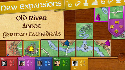 Carcassonne App - 1