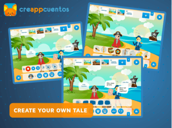 CreAPPcuentos - Create funny stories App - 2