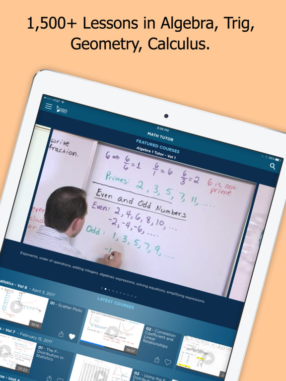 Math and Science Tutor App - 1