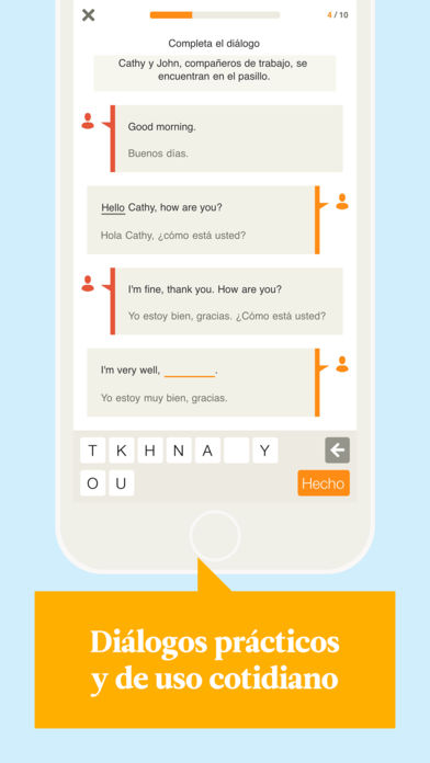 Learn English with Babbel App - 2