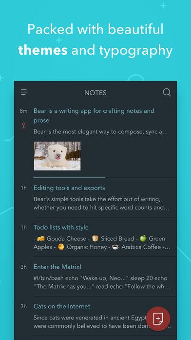 Bear App - 4