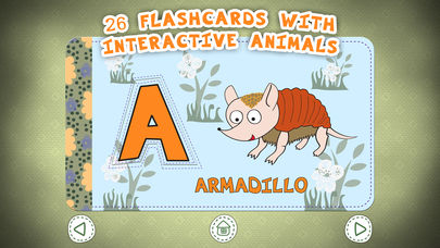 Zoo Alphabet for kids App - 2