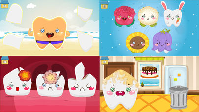 Funny Teeth! Fun game for kids App - 1
