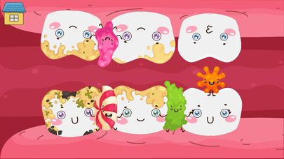 Funny Teeth! Fun game for kids App - 2