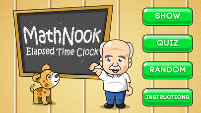 MathNook Elapsed Time Clocks App - 1