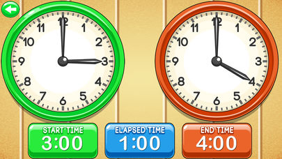 MathNook Elapsed Time Clocks App - 2