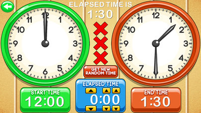 MathNook Elapsed Time Clocks App - 4