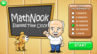 MathNook Elapsed Time Clocks App - 5
