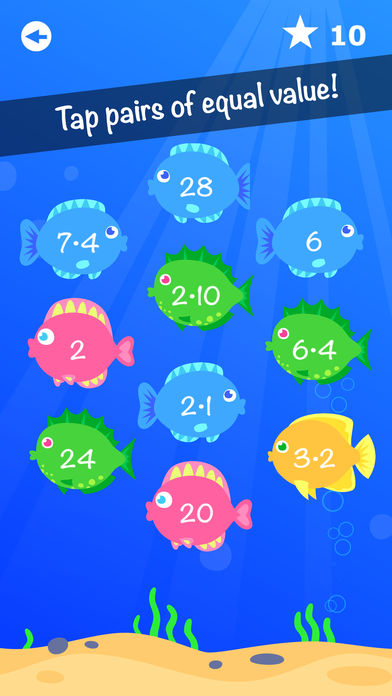 Fishy Numbers App - 2