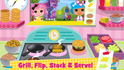Lalaloopsy Diner - Cooking Game App - 1