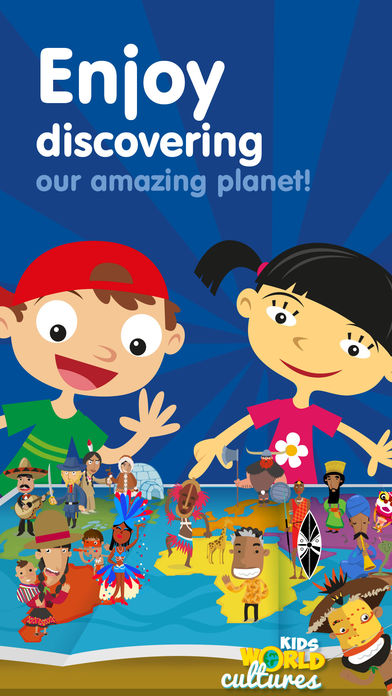 Kids World Cultures – Educational Games for Travel App - 1