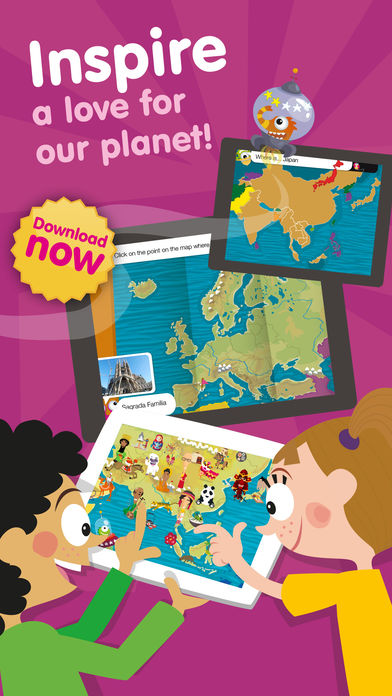 Kids World Cultures – Educational Games for Travel App - 5