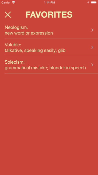 Vocabulary - Learn New Words App - 4