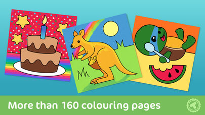 Toonia Colorbook - Educational Colouring game for Kids & Toddlers App - 1