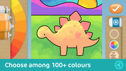Toonia Colorbook - Educational Colouring game for Kids & Toddlers App - 2
