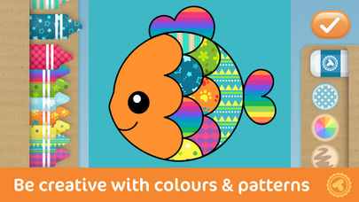 Toonia Colorbook - Educational Colouring game for Kids & Toddlers App - 4