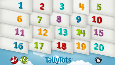 TallyTots Counting App - 1