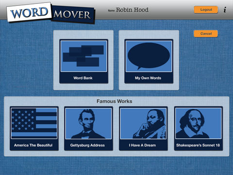 Word Mover App - 3