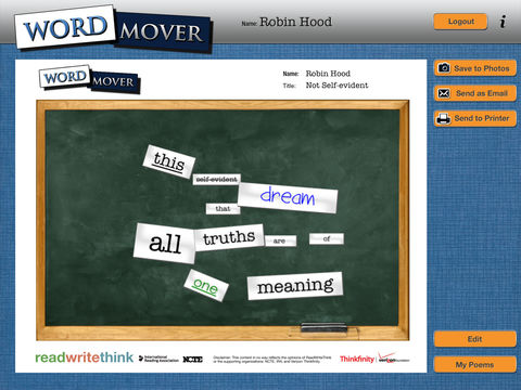 Word Mover App - 4