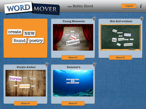Word Mover App - 5